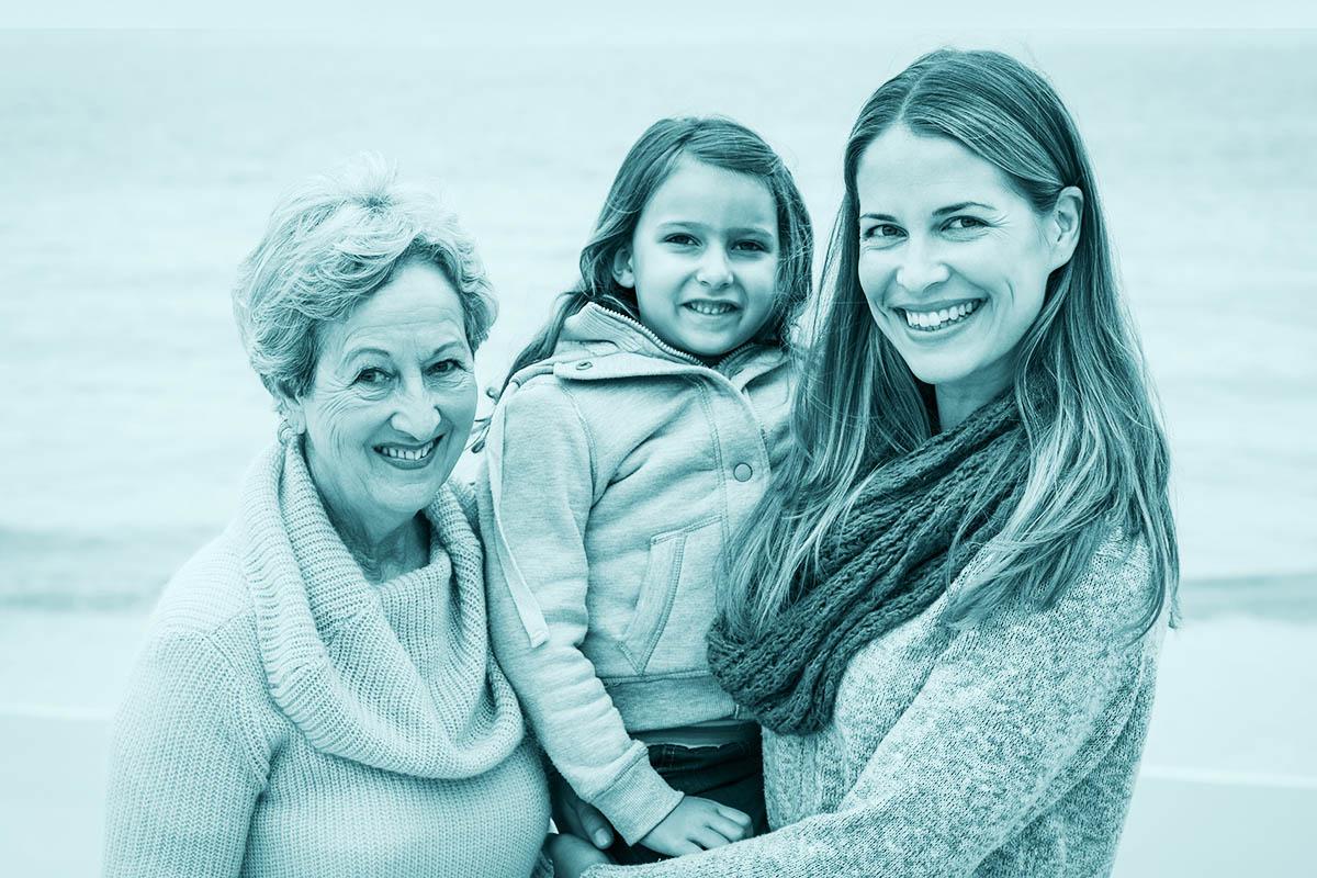 Drei Frauen, Generationen, Frauen, Weiblichkeit, Weiber